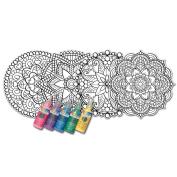 Zorbitz Joy of Colouring Stained Glass Window Art Kit