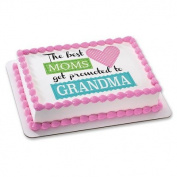 Grandma Promotion Edible Cake Topper #19583