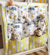Baby Baby Crib Nursery Nappy Bag Storage Stacker Hanging Organiser With 9 Pockets Baby Room Decor