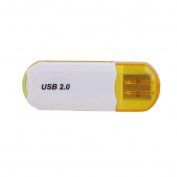 Alloet USB 2.0 480 Mbps MicroSDHC SD Memory Card Reader Writer Flash Drive