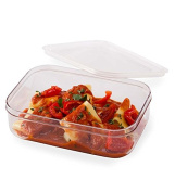 reuseit Tritan Food Container, 1.3l BPA -free Clear Rectangular Reusuable Storage Microwave & Freezer Safe
