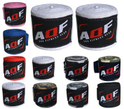 AQF Boxing Hand Wraps Bandages Boxing Inner Gloves Muay Thai MMA UFC 4 Metres