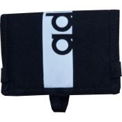 Adidas Lin Per Wallet Wallet, Unisex Adult, Black (Black/Black/White), NS
