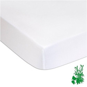 Living Bamboo Terry Mattress Protector For Cot 90x140