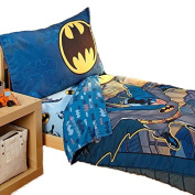 Batman 4 Piece Toddler Bedding Set