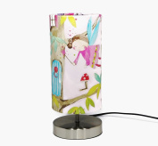 Fairy Lamp Lampshade Light Shade Girls Bedroom Woodland Deer Animals Tree House Children's kids Baby Playroom Nursery Teddy Bear