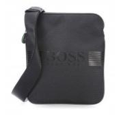 BOSS Green Pixel_s Zip Env, Men's Shoulder Bag, Schwarz (Black), 19.5x23.5x1 cm