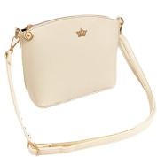 Single-shoulder Bag for Women, Xjp Casual PU Leather Shoulder Bag Cross-body Bag White