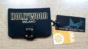 Hollywood Women's Wallet black NERO E ORO