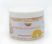 1tub Refreshing Zesty Bath Salts, 100% natural, approx 500g
