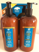 Argania Spinosa Argan Oil Hair Shampoo 500ML. & Conditioner 500ML. NEW