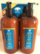 Argania Spinosa Argan Oil Hair Shampoo 500ML. & Conditioner 500ML. NEW