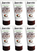 SIX PACKS of Inecto Smooth Me Coconut Hair Serum 50ml