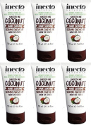 TWELVE PACKS of Inecto Smooth Me Coconut Hair Serum 50ml