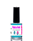 Nail Paint & Peel Off Liquid Nails Art Tape Blue Latex Rubber