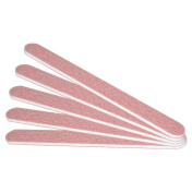 NAILFUN 5 Red Dream Straight Zebra Nail Files 120/120