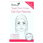 Pretty Dark Circles Gel Eye Patches with Collagen, Pack of 4, w