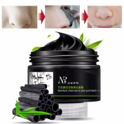 Blackhead Mask LuckyFine Bamboo Charcoal Deep Clean Mask Remove Peel Off Anti Face Mud Mask