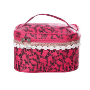 Qearly Toiletry Bag red red