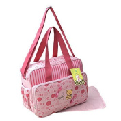 GMMH 2120 - 2-Part Baby Changing Bag, Pink