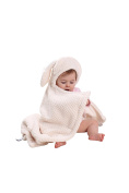 Clair de Lune Honeycomb Hooded Ear Blanket