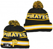 Pittsburgh Pirates New Era Vintage Select Pom Knit Beanie Hat / Cap