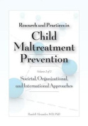 Research and Practices in Child Maltreatment Prevention, Volume Two