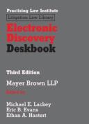 Electronic Discovery Deskbook