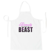 Beauty it's time to BEAST Novelty Funny Apron bb2b