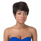 Aicos Pixie Cut Straight Synthetic Black Short Women's Wig