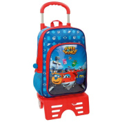 Super Wings School Backpack, multicoloured (multicolour) - 49123M1