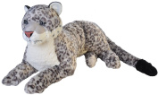 Plush Jumbo Snow Leopard