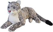Plush Jumbo Snow Leopard