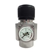 Interstate Pneumatics WRCO2 CO2 Regulator - Solid Aluminium Body 0-125 PSI