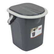 Branq 22 litre Portable Camping Festival Toilet Bucket with Seat Detachable Lid Outdoor Trip