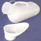 Unisex Portable Urinal Bottle - Male Female Car Travel Camping Women Toilet Loo
