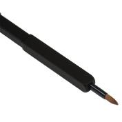 Retractable Single Lip Brush Eyeliner Brushes Silver Black