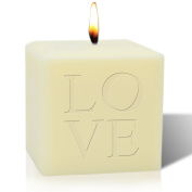 10cm SOY BLEND CANDLE : LOVE