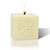 7.6cm SOY BLEND CANDLE : LOVE