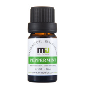 Peppermint Aromatherapy Essential Oils - 100% Pure Water Soluble with and Therapeutic Grade by MIU colour, 10ml