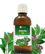 AMYRIS OIL 100% NATURAL PURE UNDILUTED UNCUT ESSENTIAL OIL 50ML