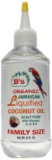 B's Hair and Beauty Products 3056B Jamaican Liquefied Coconut Oil Bottle, 240ml