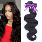 IUEENLY Hair Brazilian Body Wave Human Hair Weave Bundles Brazilian Virgin Hair Body Wave Natural Colour