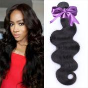 IUEENLY Hair Brazilian Body Wave Human Hair Weave Bundles Brazilian Virgin Hair Body Wave Natural Colour