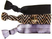 Twistband Mini Stud Bauble Hair Tie Set