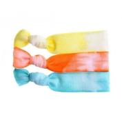 Twistband Tie Dye Summer Hair Tie Set