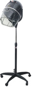 Ovente Professional Ionic Salon Hair Dryer Stand, Black