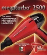TURBO POWER Mega Turbo 2500 Professional Hair Dryer (Model