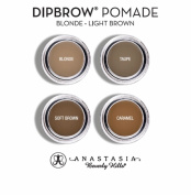Anastasia Beverly Hills Dipbrow Pomade Waterproof Brow Colour Blonde-Light Brown Sample Card