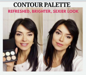 Leslie Li 6 Highlighter Bronzer Cosmetic Contour Powder Make Up Palette Light/Medium Skin TonesCT-101